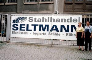 1993-Gründung der Firma Stahlhandel Seltmann